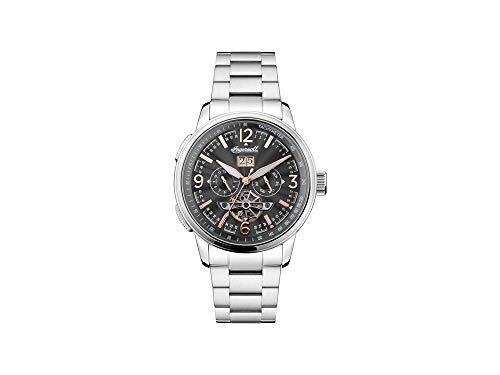 Reloj Automático Ingersoll Regent, 47mm, Negro, Taquímetro, Fecha, I00304