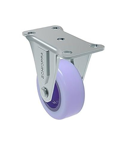 Schioppa, FL 210Citrus Violet, 5,1cm (50mm) rigide Roulettes sans frein