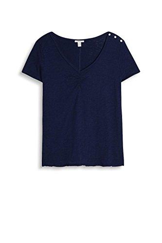 ESPRIT Damen T-Shirt Blau (Navy 400)