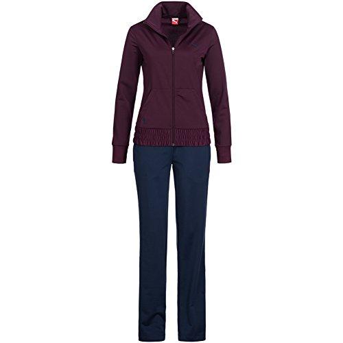 Puma Damen Trainingsanzug ESS Poly Suit 823893 M potent purple