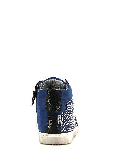 Melania , Baskets pour fille Bleu - Blu elettrico