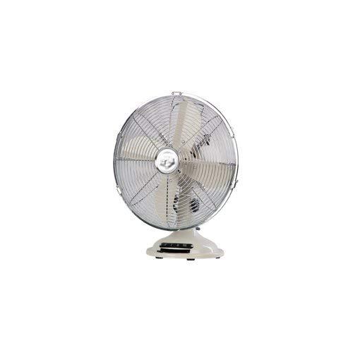 Bimar VTM33 Ventilatore domestico con pale Beige, Cromo