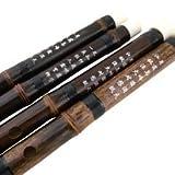 Chinesische Bambusflöte Dizi, für Anfänger geeignet, Violett, inklusive Zubehör