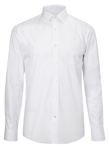 Mens Classic Long Sleeve Easy Care Formal Shirts