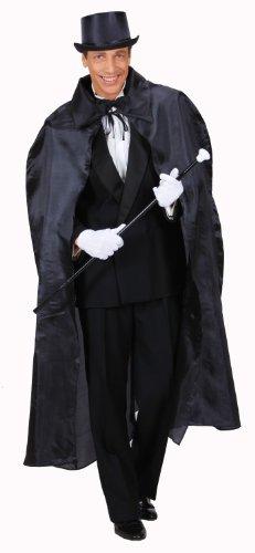 Widmann 5516B - Umhang schwarz, ca. 130 (Opern Italienische Kostüme)