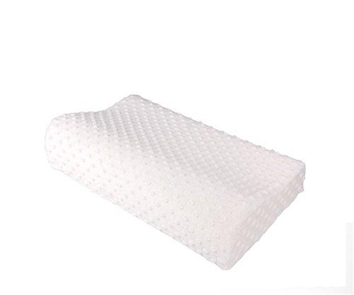 GXSCE Memory-Foam-Nackenkissen, hypoallergen & Staub Milbe Resistant White, Anti-Schnarch zu Prime Soft Supportive Komfortable waschbare Schlaf-Kissen