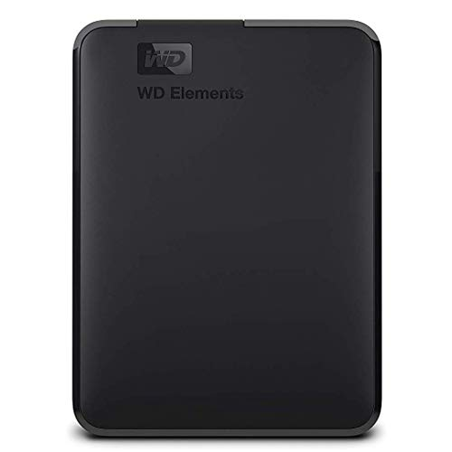 Western Digital WDBHDW0020BBK-EESN Elements 2TB Portable External Hard Drive (Black)