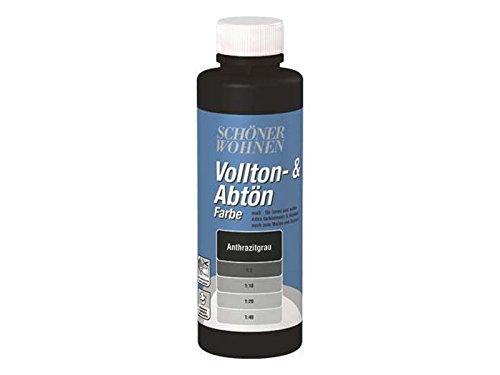 Voll- und Abtönfarbe Anthrazitgrau 125 ml