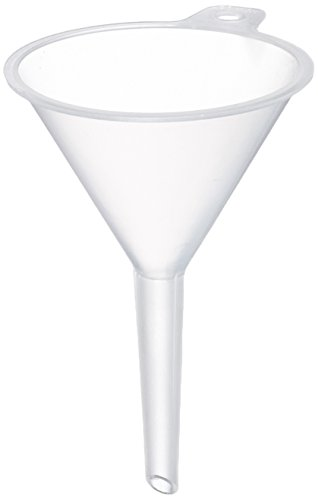 Neolab Electric 1652 40 mm Diameter Polypropylene Funnel, Handle Diameter 5 mm