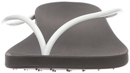 Ipanema - Philippe Starck Thing M Fem, Sandali infradito Donna Nero (Schwarz (black/white 8031))