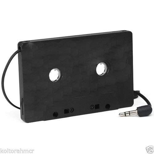 New Car Kassette Tape schwarz CD Adapter Konverter für MP3iPod Nano MD iPhone - Ipod Nano Car-adapter