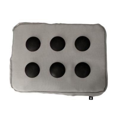 """Bosign """"Surf Pillow Hitech Laptop Kissen Laptray Notbooktisch Kissen Knietablett für Ihr Laptop - in Silber"""