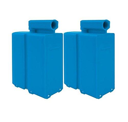 Domena Pack de 2 Cassettes anticalcaires Type A Bleu