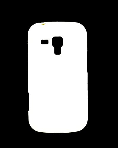 iCandy Soft TPU Shiny Back Cover For Samsung Galaxy S Duos S7562 / S2 Duos S7582 - White  available at amazon for Rs.109