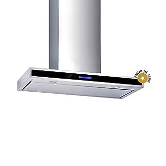 KKT KOLBE FLAT6020ED / Wand-Dunstabzugshaube / 60 cm / Premium / extra leise / LED-Beleuchtung / SensorTouch