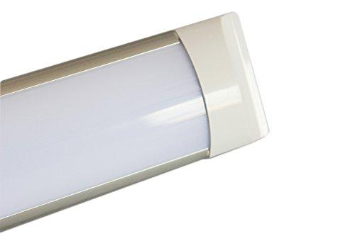 Plafoniera A Led 120 Cm : Plafoniera led w watt cm slim smd macelleria v lampada