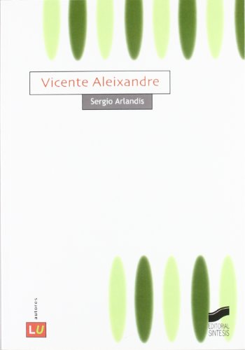 Vicente Aleixandre Cover Image