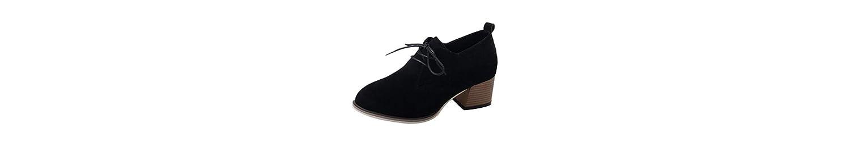 Zapatos Mujer,Tacones de Plataforma Mujeres Botines Botas de tacón Alto Blando Plataforma Botas -