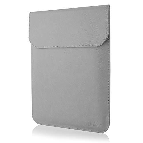 Allinside Hülle Tasche wasserdichte Laptophülle für MacBook 12 Zoll, MacBook Air 11 Zoll, 11-11,6 Zoll Notebook Ultrabook Netbook, Grau