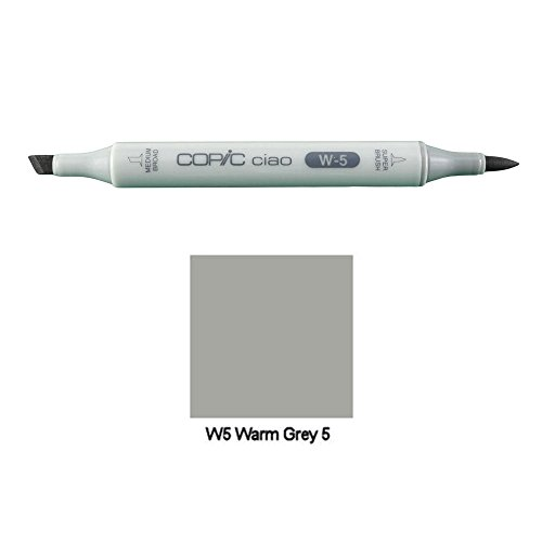 COPIC ciao Marker Warm Gray W5(W5N) - Ciao Marker