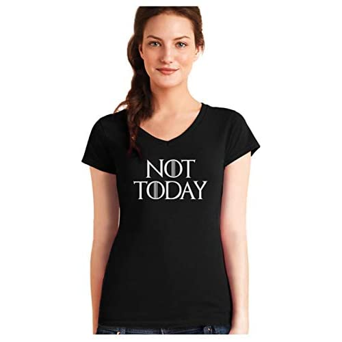 Green Turtle Camiseta de Cuello V para Mujer - Not Today 4