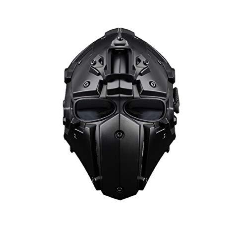 Seciie WST Airsoft Helm, Militär Taktische Helm mit Schutzbrille Tactical Helm für Airsoft Paintball CS