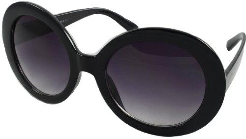 Revive Eyewear Oversize Sixties Stil Super Sonnenbrille, 9066 BK