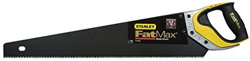 Stanley FatMax Gen2 Appliflon Handsäge (550 mm Länge, 7 Zähne/Inch, 1mm Klingenbreite, Tri-Material-Handgriff) 2-20-530
