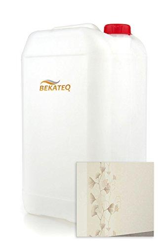 20L Tapetengrund Weiss Weißpigmentiert Lösungsmittelfrei für Tapeten Putzarbeit Anstricharbeit