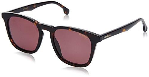 Carrera Unisex-Erwachsene 143/S W6 086 Sonnenbrille, Braun (Dark Havana Pink), 51