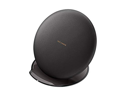 Samsung Original QI Enabled Convertible Wireless Charger with Travel Adapter for Galaxy S8/S8+ - Black