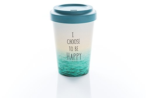 Coffe to go Becher Bamboo Cup (Choose Happy)
