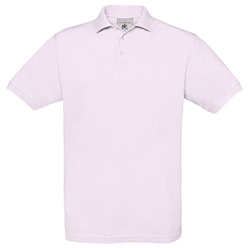 B&C CollectionHerren Poloshirt Rosa - Pink Sixties