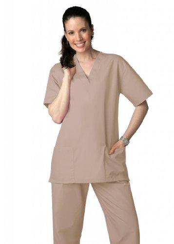 Cherokee Unisex Drawstring Pant Khaki (Adar Universal Krankenhaustunik mit Kordelzug, Unisex Gr. X-Large, khaki)
