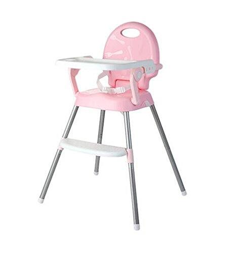 Multifunktionale Zusammenklappbare Anti-Rutsch-Stuhl Tragbare Kinder Hochstuhl Kunststoff Sicherheit Baby Stuhl Lager Gewicht 50 Kg,Pink