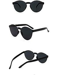 Fliegend Gafas de Sol Polarizadas Transparentes Hombre Mujer Gafas Vintage Retro Unisex UV400 Gafas de Sol