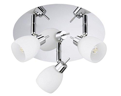Plafoniere Da Soffitto Bagno : Trango bracci lampada da soffitto plafoniera faretto per