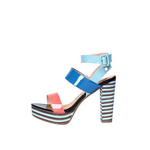 06 MILANO 0652 Sandalo Donna Blu 39