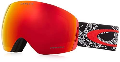 Oakley cubierta de vuelo Craneos Muertos Red Prizm nieve antorcha Iridium gafas de nieve