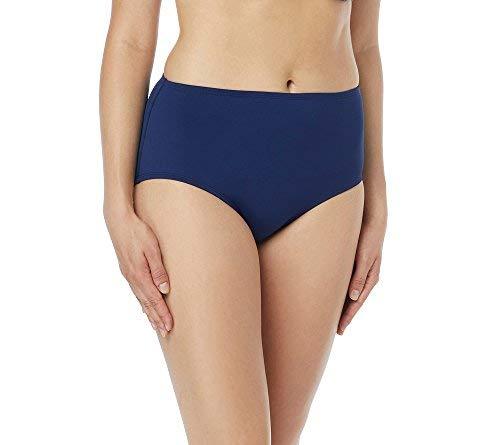 Chloe Nylon-bikini (Beach House Damen High Waisted Bikini Bottom Swimsuit Bikinihose, Paloma Beach Admiral, 38)