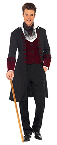 Imagen de smiffy's  disfraz para hombre con diseño vampiro gótico, talla m 21323m  alternativa