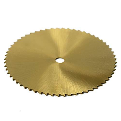 RONGRONG Trennscheibe Scheibe 80mm Titan beschichtet Schleifschleifer Drehwerkzeugteile Parts Gold