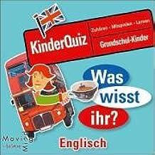 Was wisst ihr? Englisch: Kinderquiz zum Hören, Mitmachen und Lernen. Englisch für Grundschulkinder. 1 CD, 60 Min. (HörSpielen)