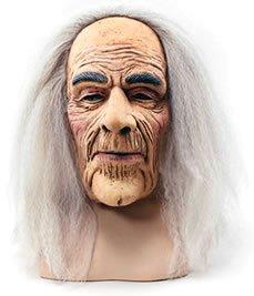 Creepy Old Man Mask - Adult Accessory