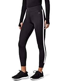 Amazon-Marke: AURIQUE Damen Sportleggings mit Seitenstreifen