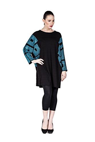 da-donna-tunica-lunga-designer-mode-vestito-il-tempo-libero-casual-in-materiale-leggero-nero-blu-cap