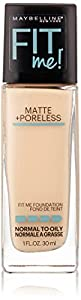 Maybelline Fit Me Matte Plus Poreless Foundation - 110 Porcelain