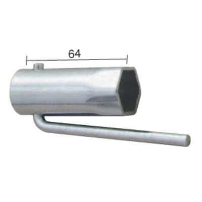 Schraubenschlüssel Zündkerze Moped faltbar Hex 21mm
