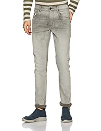 US Polo Men's Tapered Fit Jeans