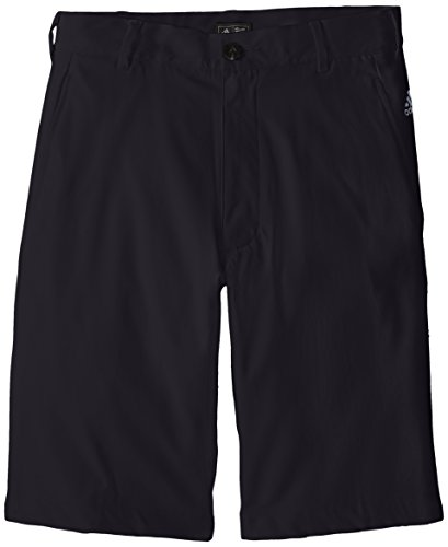 Adidas Golf Boy 's Pure Motion Stretch 3 Streifen Shorts, Schwarz, TB6144S5 (Shorts Golf Boys)